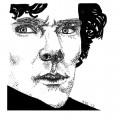Sherlock Holmes drawing