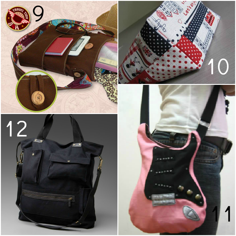 bag3 20 Free Beautiful Bag Tutorials and Patterns