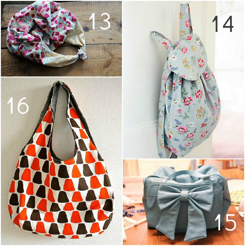 bag4 20 Free Beautiful Bag Tutorials and Patterns