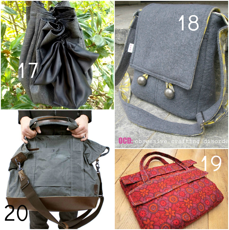 bag5 20 Free Beautiful Bag Tutorials and Patterns