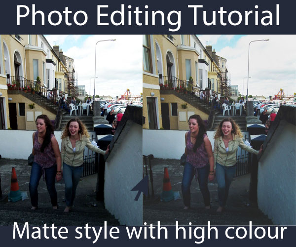 Matte Style Photography Tutorial