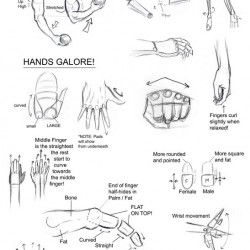 Arms and Hands Tutorial by Snigom 250x250 40 Free Art Tutorials