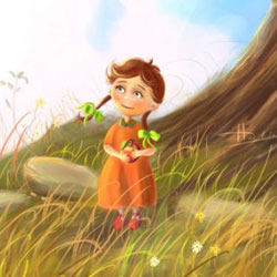 Create a Story Book Character final1 540x525 40 Free Art Tutorials