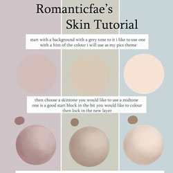 Romanticfae  s Skin Tutorial by RomanticFae 40 Free Art Tutorials