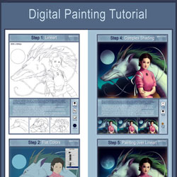digital painting tutorial  spirited away  by sanguisgelidus d54ymxm 40 Free Art Tutorials