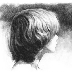 draw hair step 4 250x250 40 Free Art Tutorials