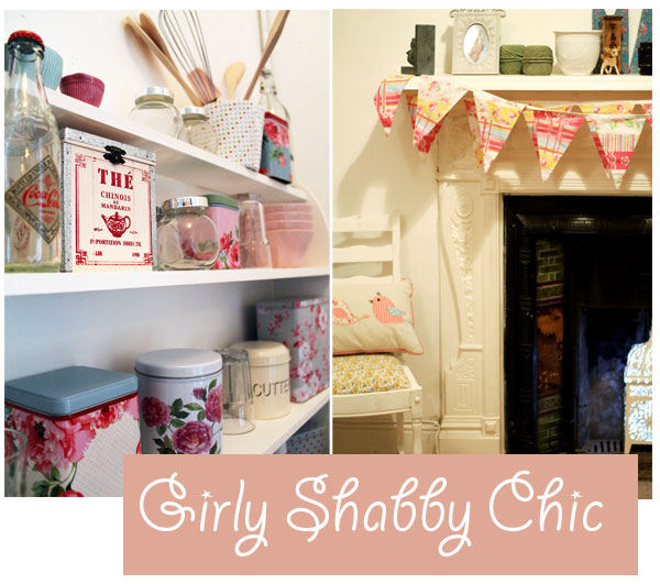 girly shabby Art and Craft Storage