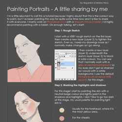 how i do portraits by vegarden d5cy1wy 40 Free Art Tutorials