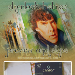 sherlock holmes preview and steps by auroraink d5735fz 40 Free Art Tutorials