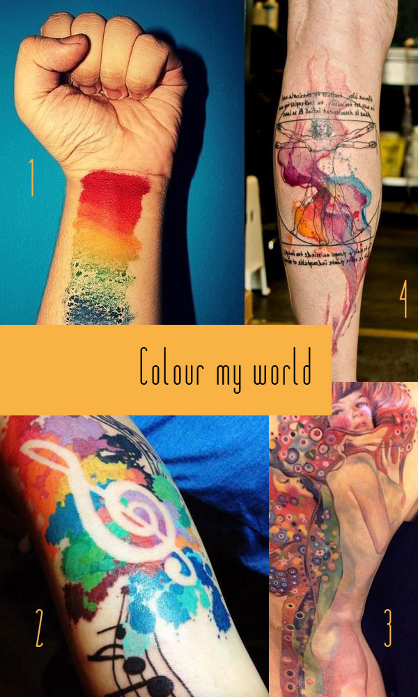 colour Tattoo Inspiration 2