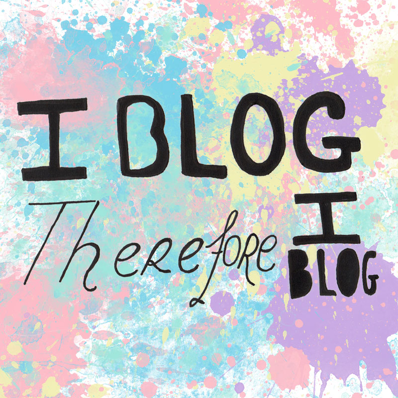 Blogging Printable