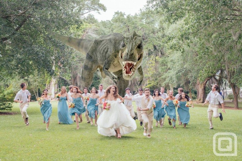 Rapter at a wedding
