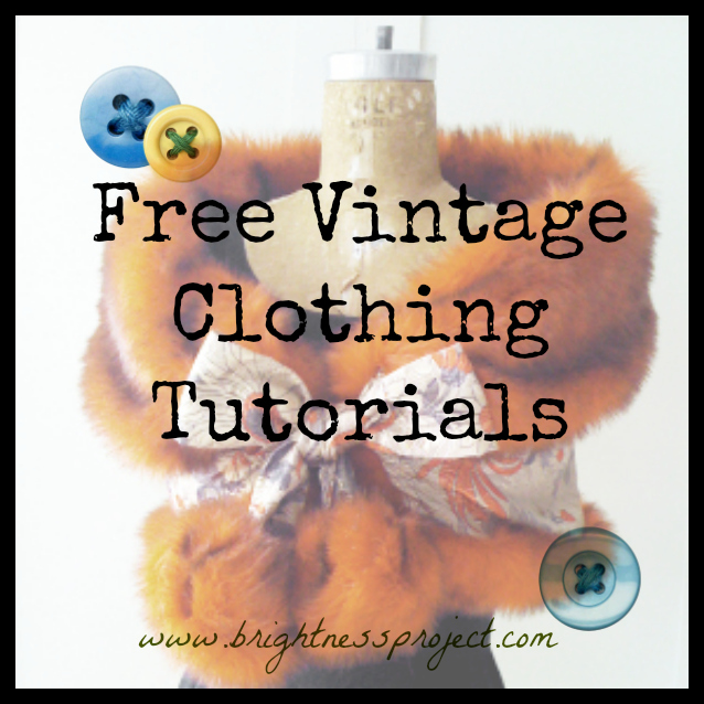 Vintage Fashion Tutorials